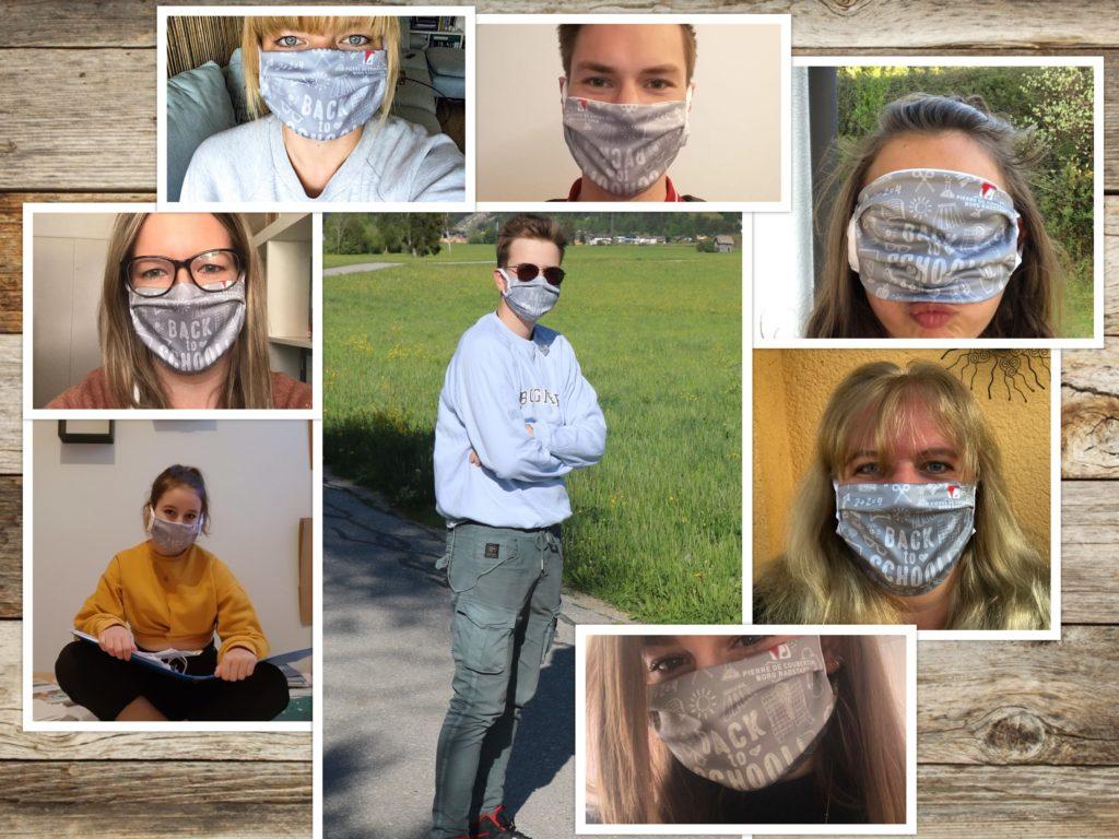 Maskenpflicht…